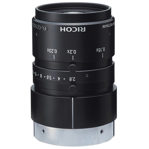 Ricoh C-Mount 50mm C5028A-M035 5 Mp Lens for Machine Vision Systems