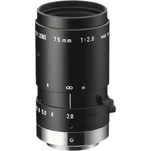 Ricoh C-Mount 75mm M Series 2 Mp Lens with Locking Screws