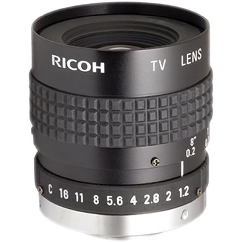 "Ricoh 6mm f/1.2 VGA 1/2"" FL Series C-Mount Machine Vision Lens"