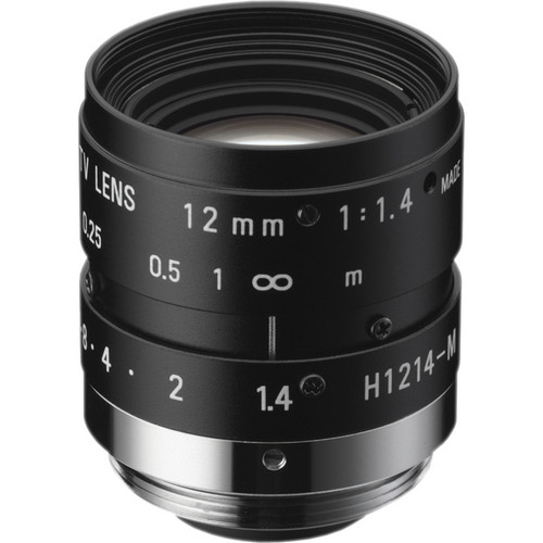 "Ricoh 12mm f/1.4 2MP 1/2"" FL Series C-Mount Machine Vision Lens"