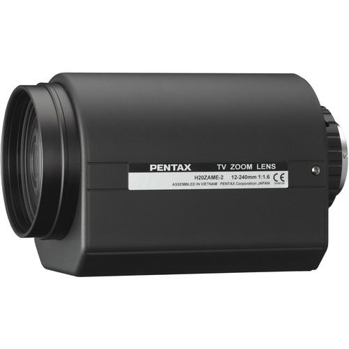Pentax C-Mount 12-240mm Motorized Preset DC Auto Iris Type-2 Lens