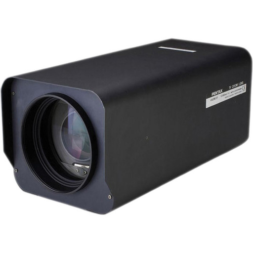 Pentax C-Mount 12-1,680mm Motorized Preset Auto-Iris Lens with 2.5x Extender