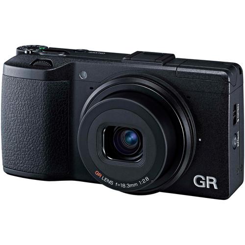 Ricoh GR II Digital Camera Deluxe Kit
