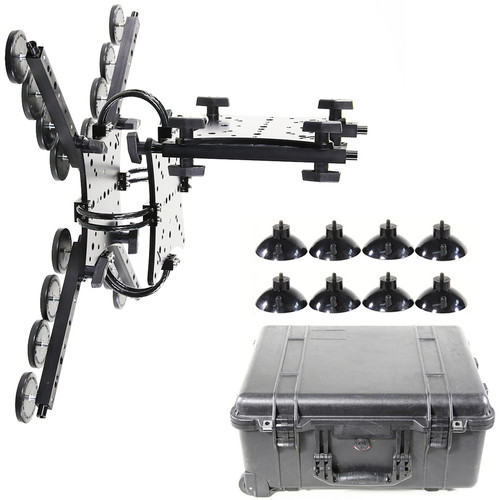 RigWheels Cloud Mount - Standard Sidecar Tray with Pelican Case