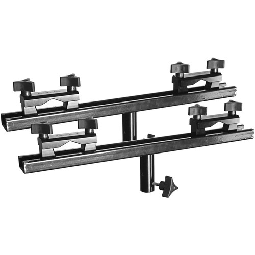 "RigWheels Universal Rail Brackets with 18"" Cross Bars"