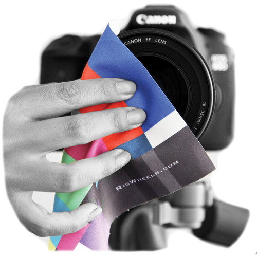RigWheels Color Bar Lens Cloth