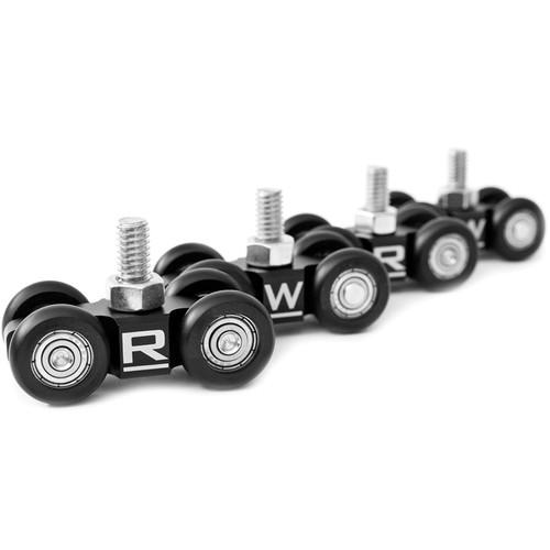 RigWheels MicroWheel Camera Dolly Wheels (4-Pack)