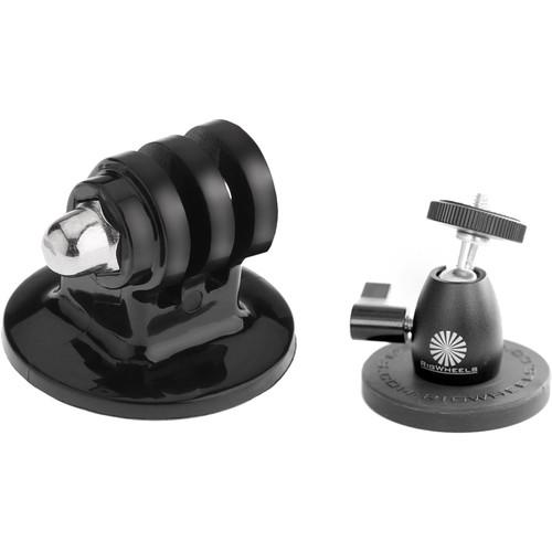 "RigWheels RMH1 RigMount & 1/4""-20 GoPro-Type Tripod Adapter Kit"