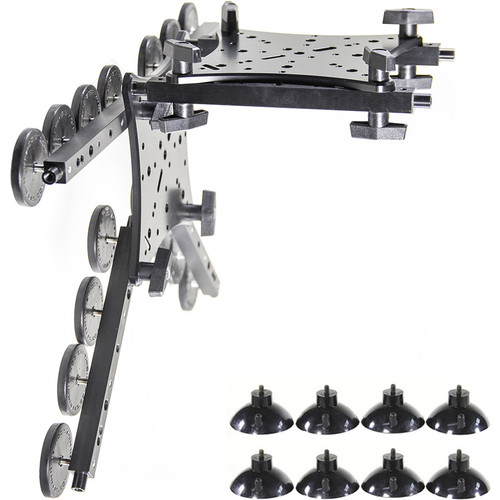 RigWheels RigMount XL Camera Mounting Platform with Sidecar and Hostess Tray