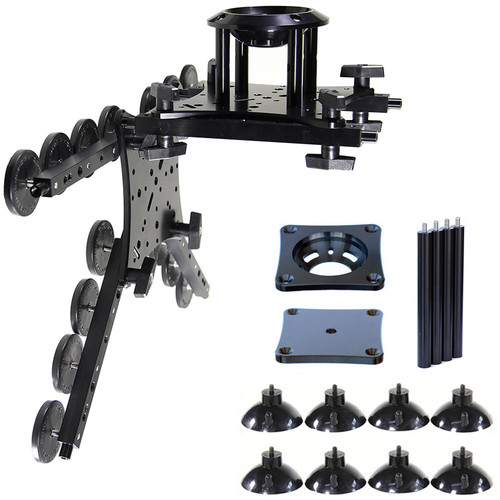 RigWheels RigMount XL Camera Mounting Platform with Tripod Head Adapter Kit
