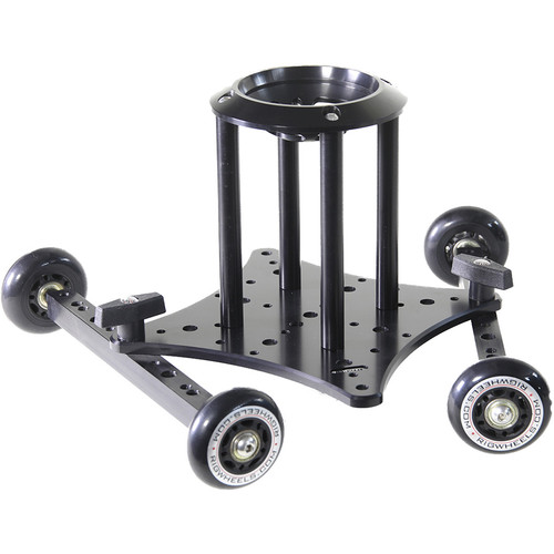 """RigWheels RigSkate 2 Tabletop/Skater Dolly with 6"""" Riser and 100mm Bowl Adapter"""