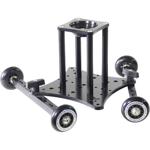 """RigWheels RigSkate 2 Tabletop/Skater Dolly with 6"""" Riser and 75mm Bowl Adapter"""