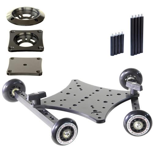 RigWheels RigSkate 2 Tabletop/Skater Dolly Complete Kit