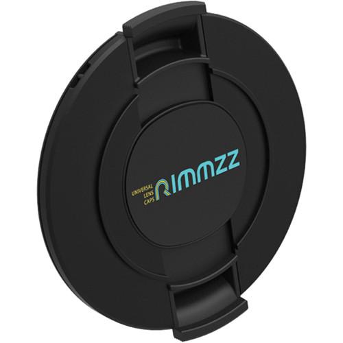 Rimmzz 43-62mm Double Lens Cap (Black)