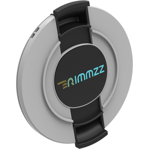 Rimmzz 43-62mm Double Lens Cap (Gray)