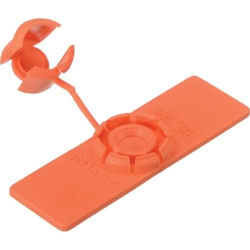 "Rip-Tie Unitag Cable Marker - 0.62 x 2"" (10 Pack, Orange)"