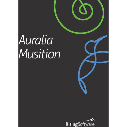 Rising Software Auralia 5 & Musition 5 Bundle - Ear Training and Music Theory Software (Student, Download)