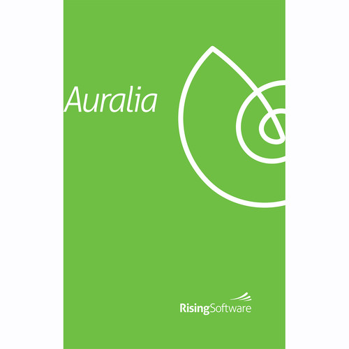 Rising Software Auralia 5 Ear-Training Software (Single Edition, Card)