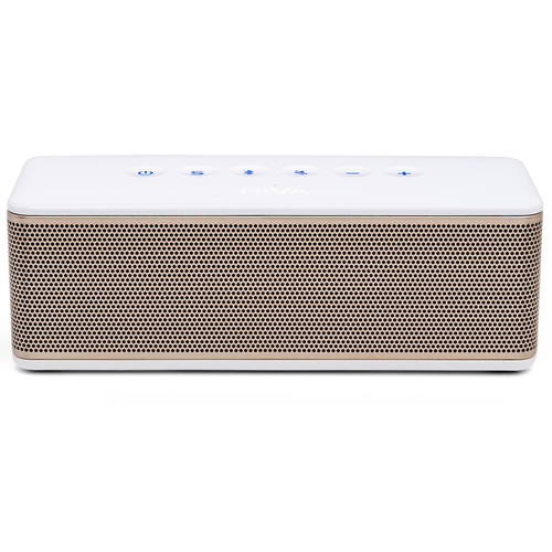RIVA Audio S Bluetooth Wireless Speaker (White/Gold)