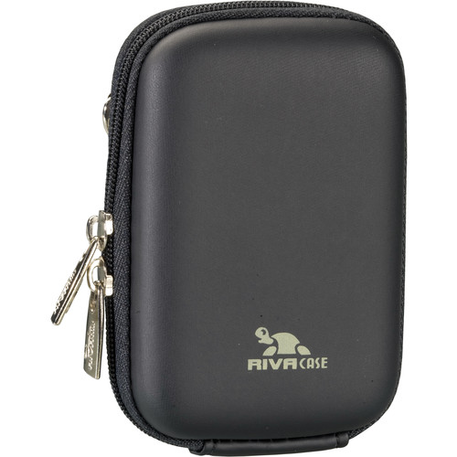 RIVACASE 7022 Series Digital Camera Case for Point and Shoot Cameras (Black)