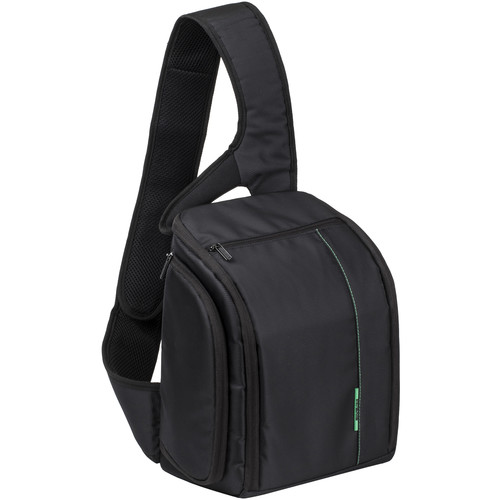 RIVACASE Green Mantis Series SLR Sling Case (Black)
