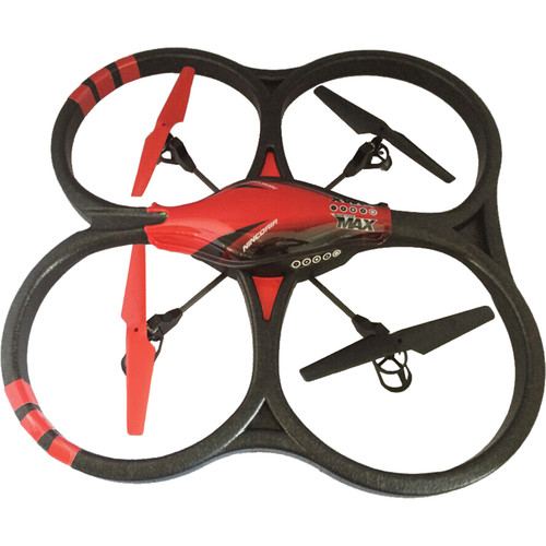Ninco Developments Quadrone Max Quadcopter with 4-Channel Transmitter and 720p Camera