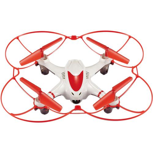 Riviera Nano Cam Quadcopter (White)