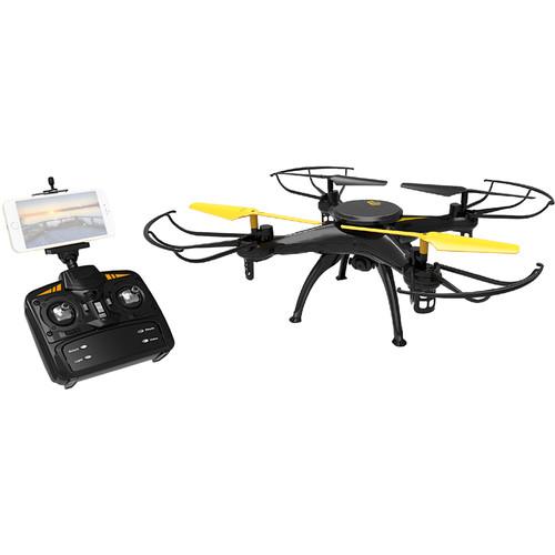 Riviera Pursuer Voice Control Wi-Fi Drone (Black)