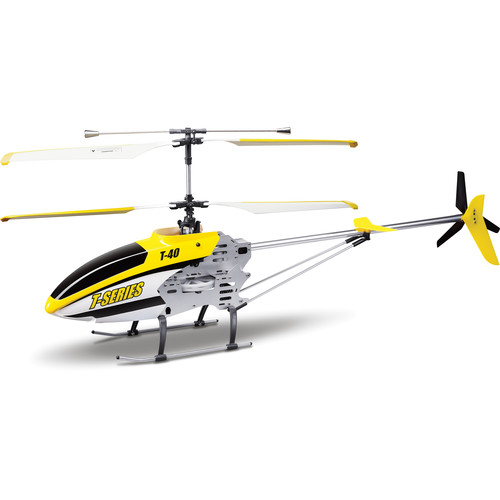 "Riviera 32"" Shuttle Cam Helicopter (Yellow)"