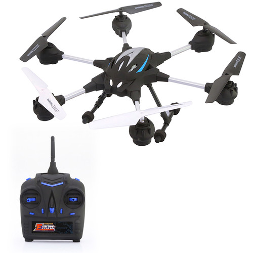 Riviera RC Pathfinder Hexacopter Wi-Fi Drone (Black)