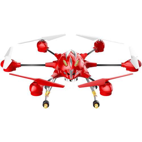 Riviera RC Pathfinder Hexacopter Wi-Fi Drone (Red)