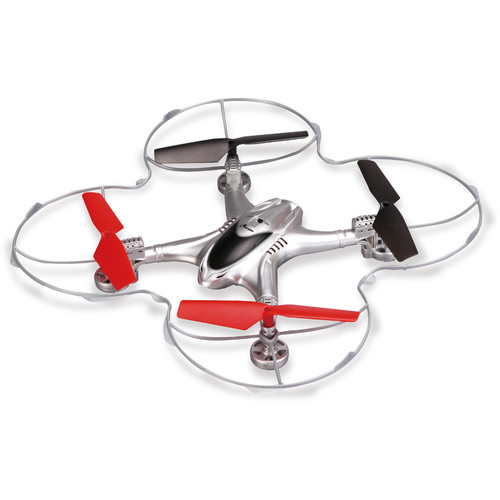 Riviera RC Pilot Drone with Wi-Fi FPV Camera (Red)
