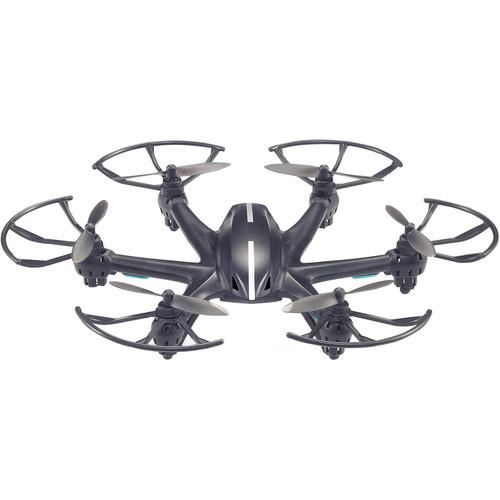 Riviera RC Falcon Hexacopter with Wifi FPV Camera (Black)