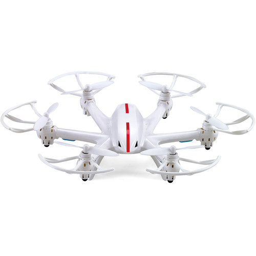Riviera RC Falcon Hexacopter with Wifi FPV Camera (White)
