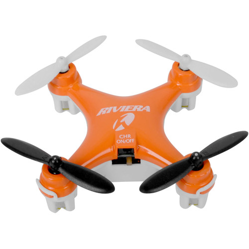 Riviera RC Pocket Quadcopter (Orange)