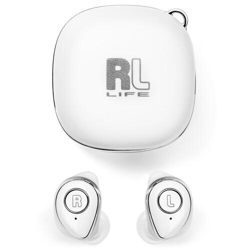 RL Audio FiTerra True Wireless In-Ear Headphones (White)