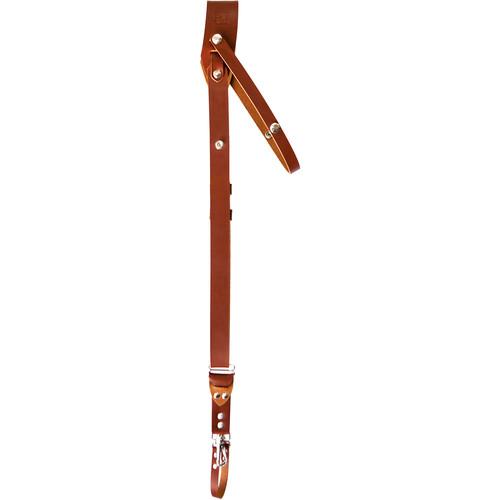 RL Handcrafts Andino Pro Leather Camera Sling (Medium, Tan)