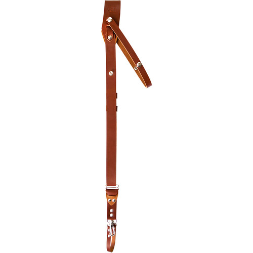 RL Handcrafts Andino Pro Leather Camera Sling (Large, Tan)