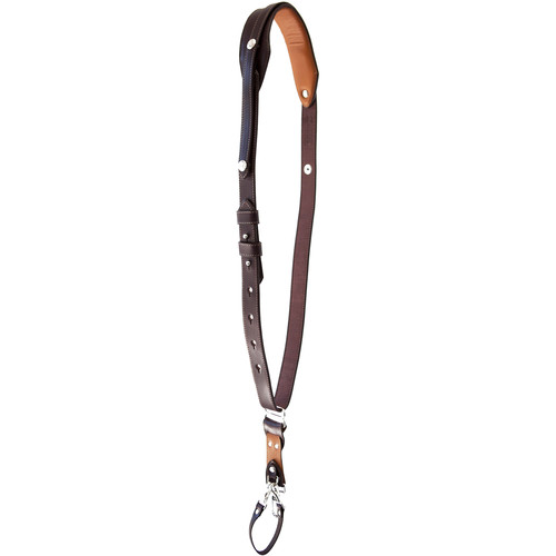 RL Handcrafts Andino Pro-DLX Leather Camera Sling (Large, Coffee/Tan)