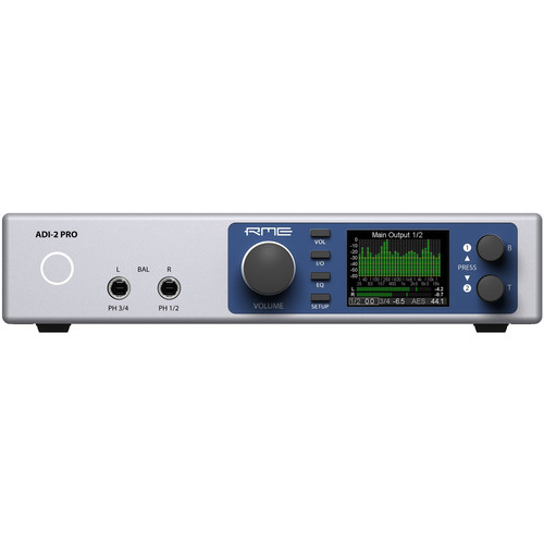 RME ADI-2 Pro FS Reference AD/DA Converter with Extreme Power Headphone Amplifiers