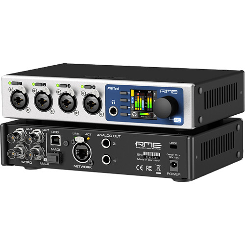 RME AVB Tool Mic Preamp, Router, and Converter