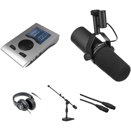 RME Babyface Professional Podcast Kit with Shure SM7B & Headphones