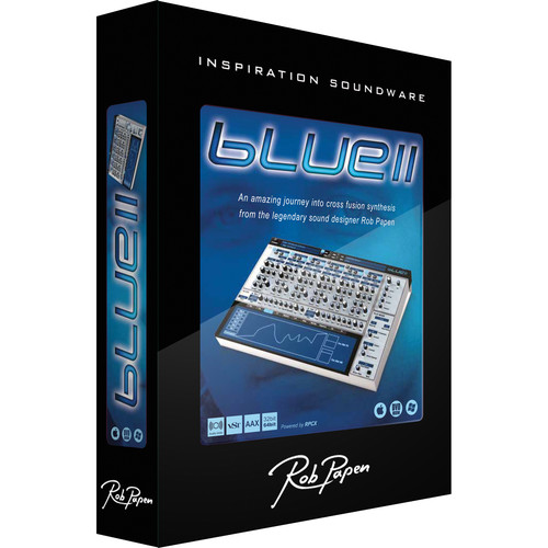 Rob Papen BLUE-II Virtual Synthesizer Plug-In (Upgrade From BLUE)