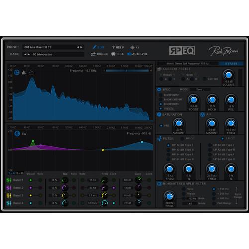 Rob Papen RP-EQ - EQ Plug-In (Download)