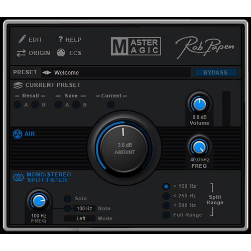 Rob Papen MasterMagic - Mixing Enhancer Plug-In (Download)