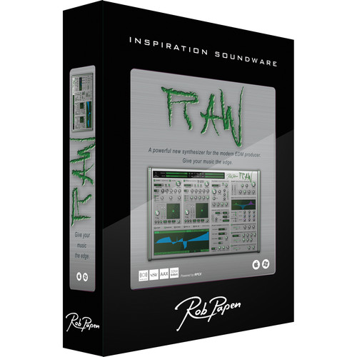 Rob Papen RAW - Phase Distortion Virtual Synthesizer (Download)