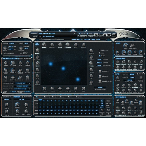 Rob Papen Blade Virtual Synth Software for Composers, Producers, and Sound Designers (Download)