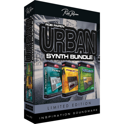 Rob Papen Urban Synth Bundle (Limited Edition)