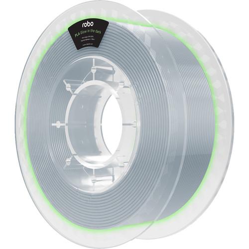 ROBO 3D 1.75mm PLA Filament (500g, Glow In the Dark)
