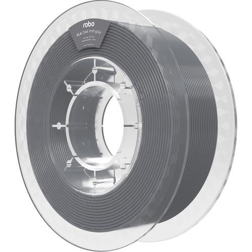 ROBO 3D 1.75mm PLA Filament (500g, Cool Mid-Gray)